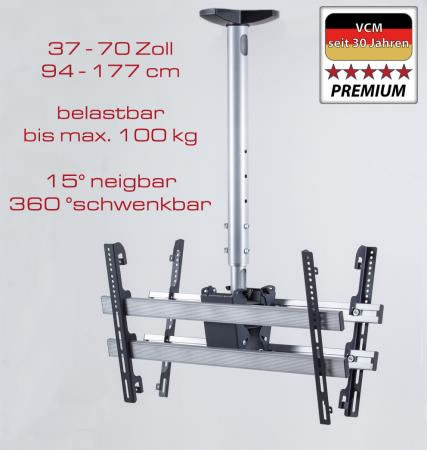 """VCM Deckenhalterung """"TDH 4 DOUBLE"""" (Hifi- und TV-Moebel)"""