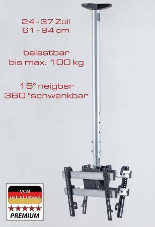 "VCM Deckenhalterung ""TDH 3 MAXI DOUBLE"" (Hifi- und TV-Moebel)"